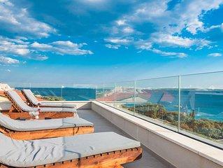 Luxury penthouse near Zrće beach