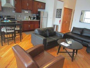 New & Modern 2-Bedroom Brownstone Apt.