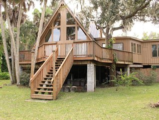 Riverfront Luxury Home & Coastal Cottage