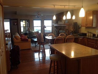 Spacious Newer Vacation Home With Rolling Dunes And Prime Beachfront!