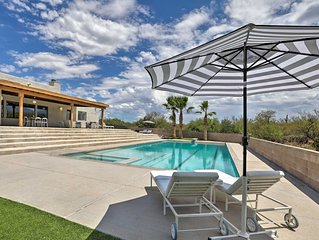 NEW! Secluded Tucson House w/ Pool - 18 Mi. to UA!