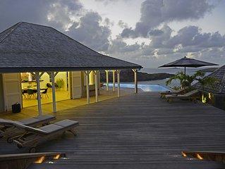 Villa Lagon Bleu - 5 bedrooms villa- St Barts - Quartier Cul de sac
