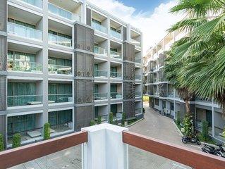 1 BDR Spacious Apartment 500 M. to Villa Market in Bangtao