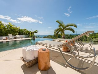 CASA PHIL - Ocean View Modern, fully staffed, Luxury villa - Walk to the beach