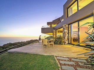 Exclusive, Luxurious Villa perched above cliffs with indoor pool & ocean views.