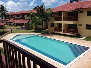 Flat à Beira Mar na Ilha de Itamaraca/PE - Condomínio Itaoca Residence
