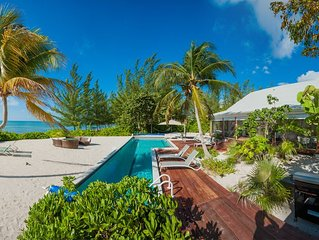 5TH NIGHT FREE - 5 Bedroom Ultra-Chic Beachfront Cottage with Private Pool