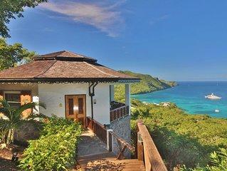 5* HIBISCUS Cottage* Breathtaking VIEWS- Incredible INFINITY POOL-Amazing ISLAND
