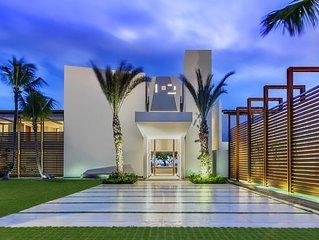 Three-Story Oceanfront Estate in Casa de Campo