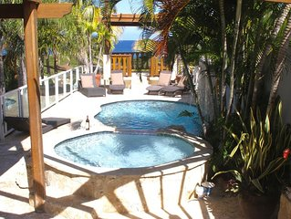 Steps from Water & Restaurants, right at Jobos beach!, Great Location!