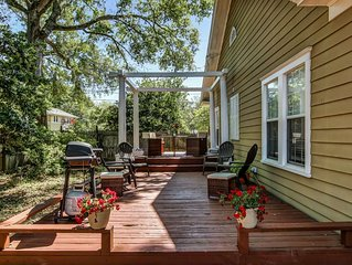 Newly Listed Historic Bungalow! Close to Downtown Jacksonville- Private Backyard