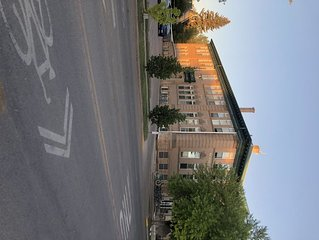Cool Loft Style in Original Elementary School