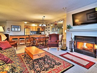 3 bedroom Winterplace condo, Short walk to the trail. Sleeps 8