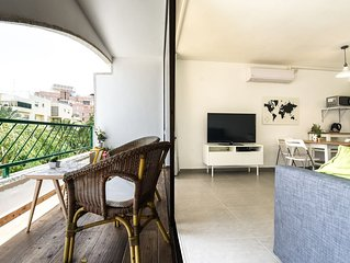 Cozy renovated apartment 8 minutes walk from the beach