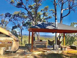 Glamp Wombat Ridge's Bush Pavilion
