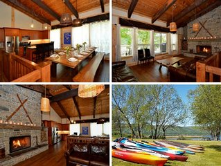 9 Bed Blue Mountain Luxury Chalet with Hot Tub Sleeps 18