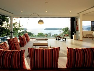 The Heights Penthouse stunning seaview
