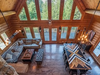 �❤️�A Romantic Getaway��⭐️� Spa/Log Cabin/Nature���