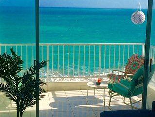 Oceanfront Paradise~A lovely newly owned condo spectacular ocean views