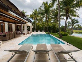 Jaguey 8 Luxury Villa with Pool  housekeeper & Golfcart.