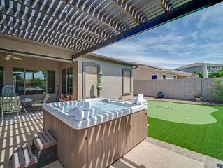 ITS ALL BRAND NEW+HOT TUB+POOL TABLE+PUTTING GREEN+TONS OF SPACE TO ENTERTAIN