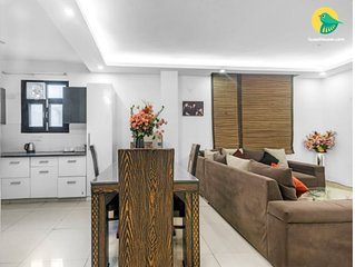 9BHK Apt (3nos of 3BHK apts in a building) for 18 guests at Chattarpur New Delhi