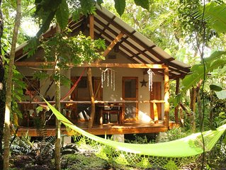 Tropical paradise cottage  few steps to the beach between Montezuma and Cabuya
