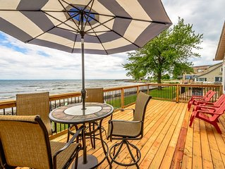 Lake Breeze Retreat on the shores of Lake Erie - booking now for summer!