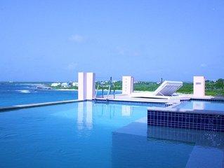 Luxury Villa 'B on the Sea' Oceanfront, 5 ensuite bedrooms,2 pools