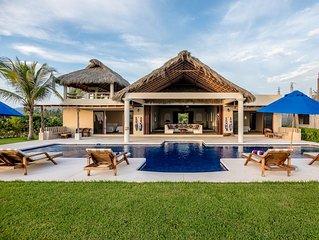 Casa Sunshine, Full Service Beach Front Villa