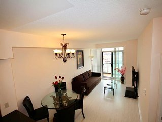 2 Bedroom, 2 Washroom High Rise Suite in Thornnhill