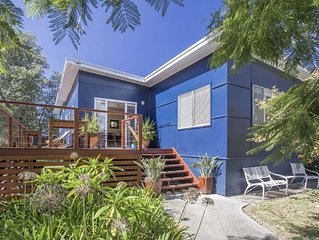Charmingly renovated beach house. Equipped with stylish interiors, light-filled
