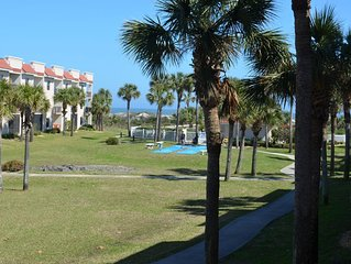 2 Bed, 2 Bath with ocean view, just steps to the beach w/ private beach access