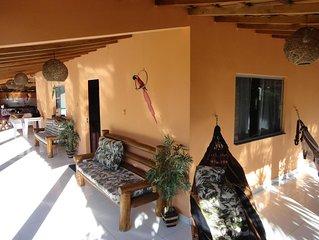 Casa localizada Vila Moradores em Corumbau, uma casa aconchegante e agradavel.