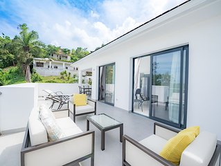 Rooftop Apt In A New High Standing Residence With Pool 6 Min Walk From The Beach