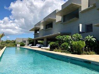 Stunning Eco-Luxury Villa on Caribbean Sea Featuring 94 Foot Pool, Sleeps 16