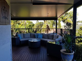 TAMBO TRANQUILLITY.  2 GUEST ROOMS. PRIVATE BATHROOM. HOT TUB UNDER THE STARS.