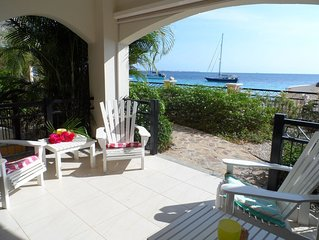 Luxe Ocean Front Appartement in Bonaire