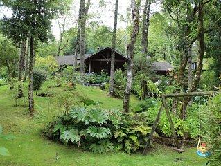 Gran casa en parque privado a minutos del centro de Pucon