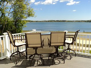 Beautiful 5BR Cape Cod Beach-Front Modern Home w/ Gorgeous Panoramic Water Views