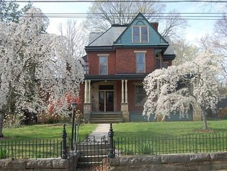 Historic House with Gardens Near Universities & Downtown