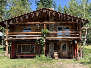 Lazy Bean ~ Private Cabin Neighboring Bob Marshall Wilderness