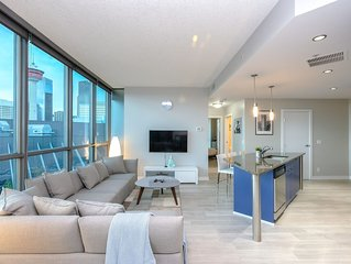 Chic and luxury on a cloud - Calgary Downtown - Pool and Gym