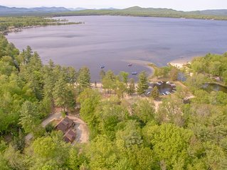 The Tinker Bell on Ossipee Lake with water and mountain views!