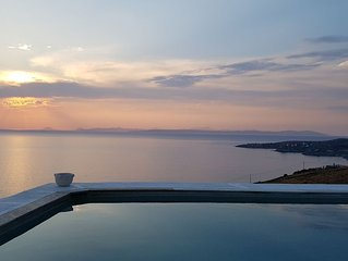 KiVA villa at KAMPI, KEA, CYCLADES, GREECE