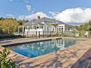 Lichfields Cottage - 6 acres, native bush, swimming pool
