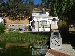 Relax or Play-Stunning 5 Bedroom Lakefront on Clear Lake with Spectacluar Views