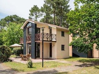 Mooi gelegen, comfortabele vrijstaande villa, geschikt voor 4 personen.