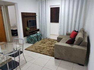 Excelente apartamento com area de lazer completa. Ed- Serra Dourada