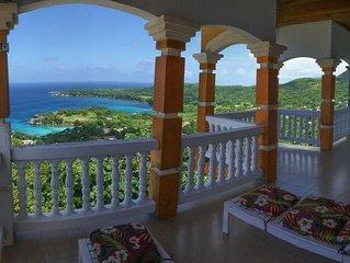 Ocean & Mountain View at Harmony Heights Villa